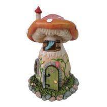 Miniature Fairy Garden Cottage - Fairy Garden House - Mushroom Fairy House Red