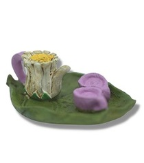 Miniature Fairy Garden Tea Set | Miniature Fairy Garden Accessories | Daisy Tea Set w/Tray