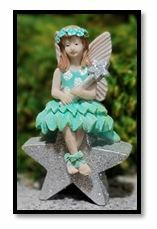 Miniature Fairy Garden Fairy | Miniature Fairy Garden Statue | Bexley Caught a Star
