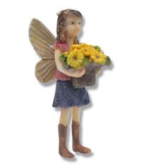 Miniature Fairy Garden Fairy | Miniature Fairy Garden Statue | Fairy Amelia Jean