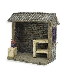 Miniature Fairy Garden Feature - Miniature Fairy Garden House - Potting Shack