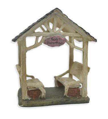 Miniature Fairy Garden Feature - Miniature Fairy Garden House - Fairy Shelter Gazebo
