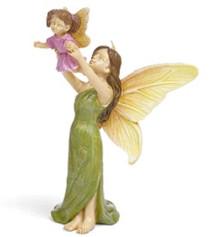 Miniature Fairy Garden Fairy | Miniature Fairy Garden Statue | First Flight