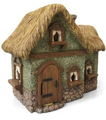 Miniature Fairy Garden House | Miniature Fairy Garden House | Thatched Country Cottage