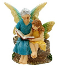Miniature Fairy Garden Fairy | Miniature Fairy Garden Statue | Time with Grandma