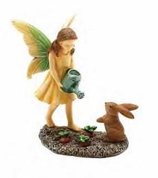 Miniature Fairy Garden Fairy   Miniature Fairy Garden Statue   Fairy Gardener