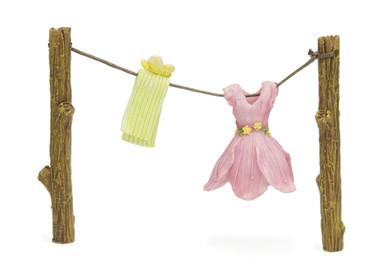 Miniature Fairy Garden Clothes   Miniature Fairy Garden   Out To Dry