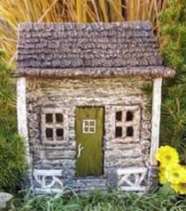 Fairy Garden Cottage | Miniature Fairy Garden Houses | Fairy Cabin
