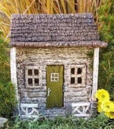 Fairy Garden Cottage   Miniature Fairy Garden Houses   Fairy Cabin