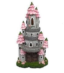 Miniature Fairy Garden Castle | Miniature Fairy Garden House | Fairytale Castle Solar