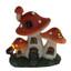 Miniature Fairy Garden Solar House | Miniature Fairy Garden House | Mushroom Solar Cottage