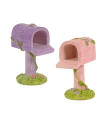 Miniature Fairy Garden Mail Box | Miniature Fairy Garden Accessories |Fairy Mail Box