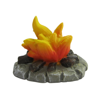 Miniature Fairy Garden Campfire - Miniature Fairy Garden Accessories - Woodland Campfire