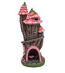 Miniature Fairy Garden Castle | Miniature Garden House | Fairy Hollow
