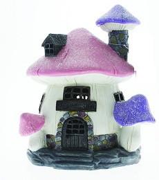 Miniature Fairy Garden House   Miniature Fairy Garden Solar   Glitter Tooth Fairy School - Solar