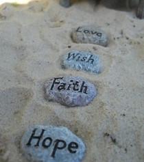 Saying Stepping Stones