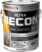Fiberlock Ultra Recon - Universal Restoration Primer / Sealer Encapsulant with Odorlock Technology - 1 Gallon White.