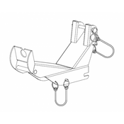 Pelsue - Bracket for PSRL1350 (For Davit): MB-FD1