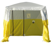 Ground Tent w/ Roll Up Access Door (10' x 10' x 6.5'H): 6510DRAD