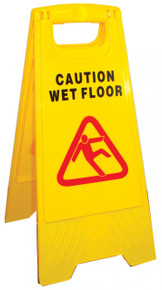 "A-FRAME ""CAUTION"" SIGN"