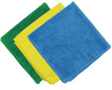 "LIGHT WEIGHT MICROFIBER CLOTHS (12"" X 12"")"