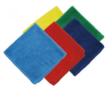 "LIGHT WEIGHT MICROFIBER CLOTHS (16"" X 16"")"