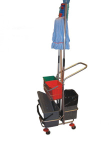VERTICAL FOUR-WHEEL TROLLEY