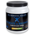 Lemon Lime Hydrate & Recover Tub by Wilderness Athlete 30 servings