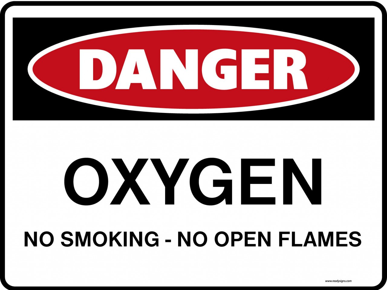 graphic about No Smoking Sign Printable referred to as Possibility Signs or symptoms - Oxygen No Smoking cigarettes Open up Flames