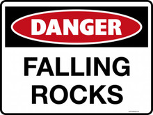 DANGER - FALLING ROCKS