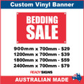 BEDDING SALE - CUSTOM VINYL BANNER SIGN