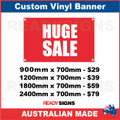 HUGE SALE - CUSTOM VINYL BANNER SIGN
