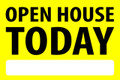 Open House Today - Yellow