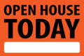 Open House Today - Orange