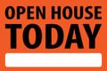 Open House Today - Orange