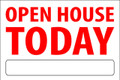 Open House Today - White/Red