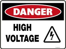 Danger Sign - HIGH VOLTAGE