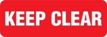 GARDEN & LAWN SIGN - KEEP CLEAR