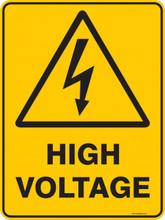 Warning  Sign - HIGH VOLTAGE