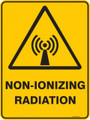 Warning  Sign - NON IONIZING RADIATION
