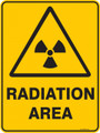 Warning  Sign - RADIATION AREA