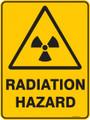 Warning  Sign - RADIATION HAZARD