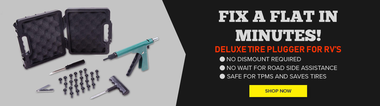 Deluxe tire plugger - shop now