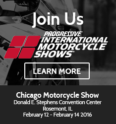Join Stop and Go at the Progressive Motorcycle Show