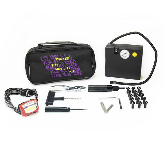 Tire Mobility Kit for Cars