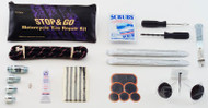 Tube & Tubeless Motorcycle Tire Repair Kit
