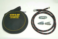 Engine Powered Air Pump for Motorcycles - 5 ft Hose
