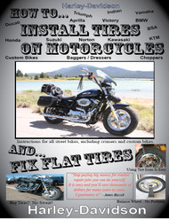 How to Install Tires on Motorcycles and Fix Flat Tires