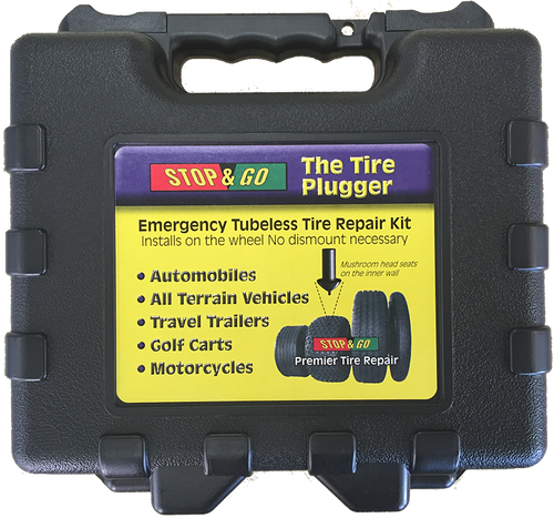tire repair kit case