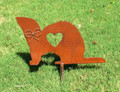 Ferret Memorial Metal Garden Stake - Metal Yard Art - Metal Garden Art - Pet Memorial